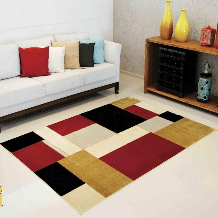 Tapetes Vermelhos Comprar Tapete Vermelho Tapetes: Tapete Marbella Boreal Retângulos Rayza 60cmx1,20m
