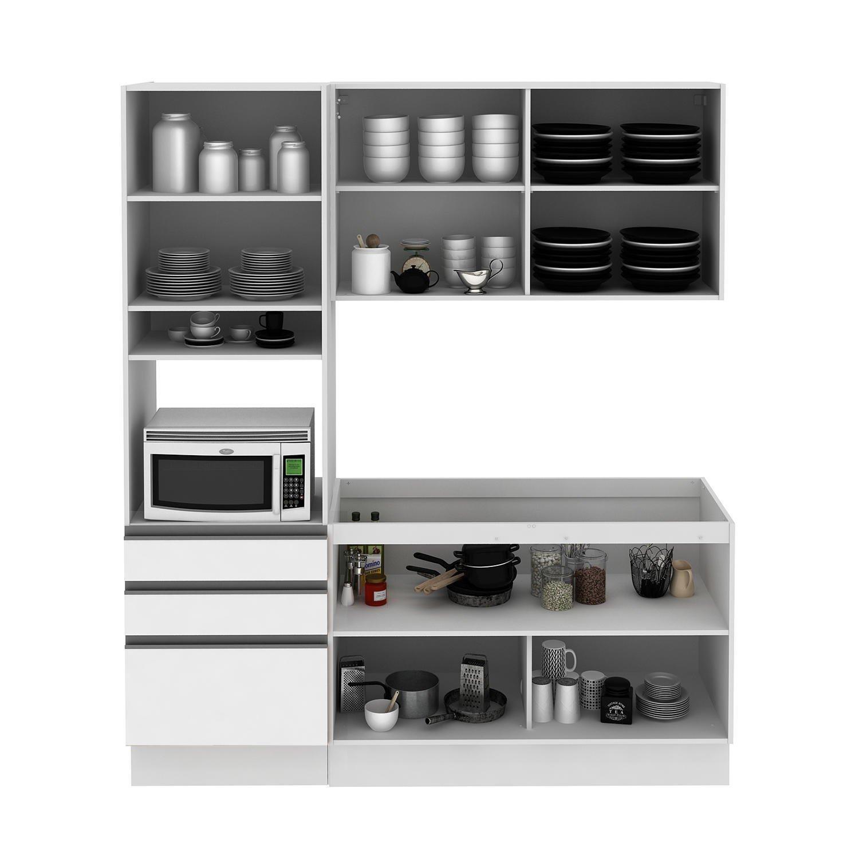 Cozinha Compacta Aluminio Beyato Com V Rios Desenhos Sobre