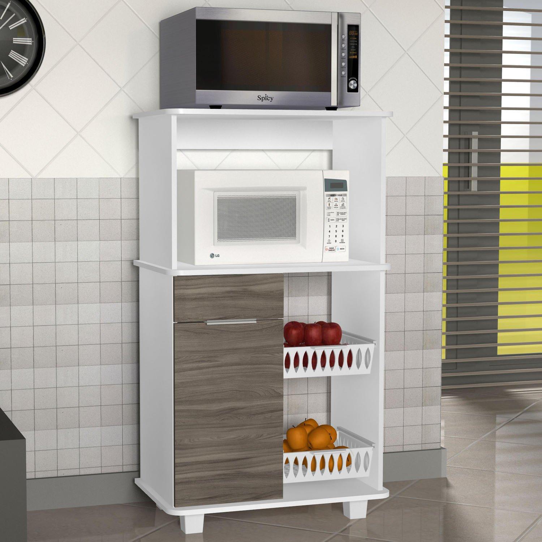 Armario Para Microondas Glamour Armario De Cozinha Em Oferta Casas