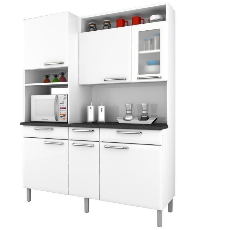 Wibampcom  Armario Cozinha Vidro Branco ~ Idéias do Projeto da Cozinha para # Cozinha Compacta Victoria Fiasini