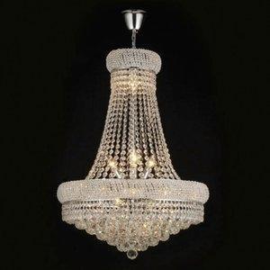 Lustre Imperial  de Cristal Yoná 6 Lâmpadas AdnMais Transparente