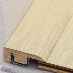 Perfil Piso Parede MDF Durafloor 10mm x 2,1cm x 2,10 m (barra) Ébano