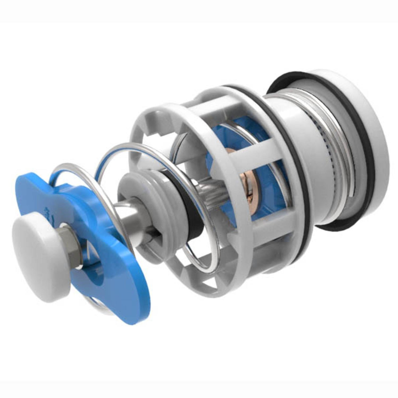 Kit Reparo com Mola para Válvula Docol RI - 484 - 1.1 / 2 Blukit Branco