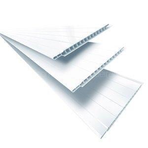 Forro de PVC Polifort 8mm x 20cm x 3m (m²) Branco Gelo