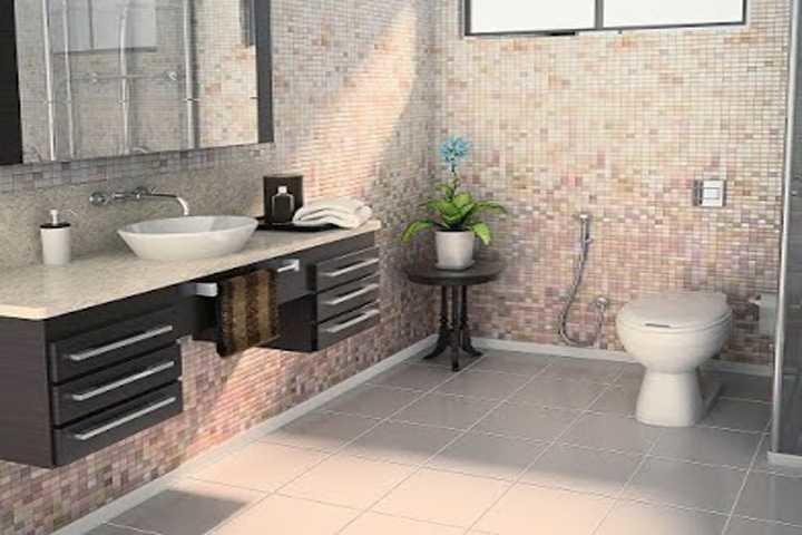 Banheiro Completo Lisboa em Banheiros Decorados na MadeiraMadeira -> Cuba De Sobrepor Para Banheiro Eternit Darus Branco