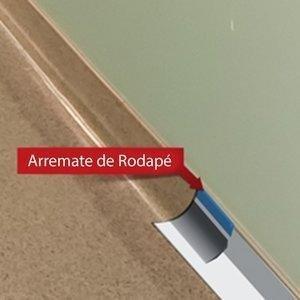 Arremate de Rodapé Dipiso para Piso Vinilico 6,5mm x 18mm (ML) 9245925