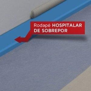 Rodapé Hospitalar de Sobrepor Dipiso 7 cm (ML)