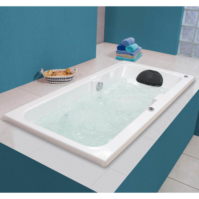 Banheira Hidromassagem Astra Linea Box 1 35m X 80cm X 44cm   R$ 3  #956436 1500x1500 Banheiro Com Banheira E Box
