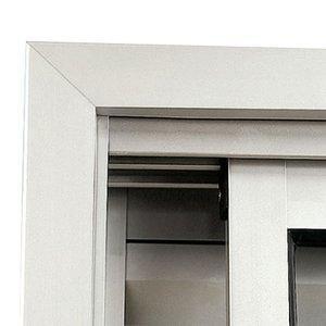 Guarnição Alumínio para Janela Maxim-Ar Sasazaki 60cm x 80cm Branco