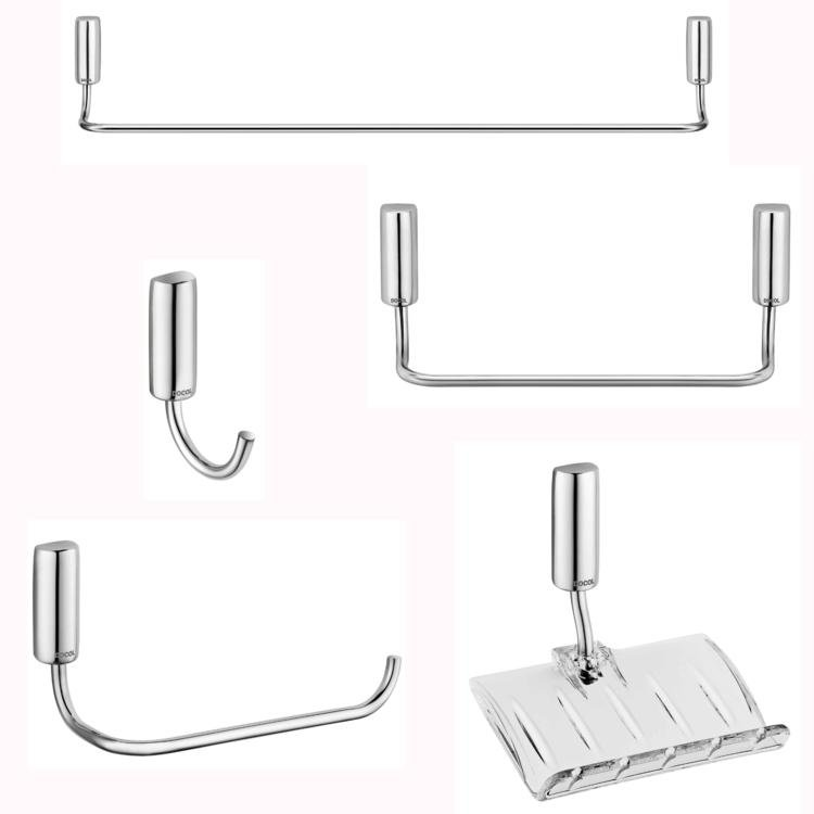 Kit Acessórios Para Banheiro Docol Idea : Kit acess?rios para banheiro com pe?as docol idea
