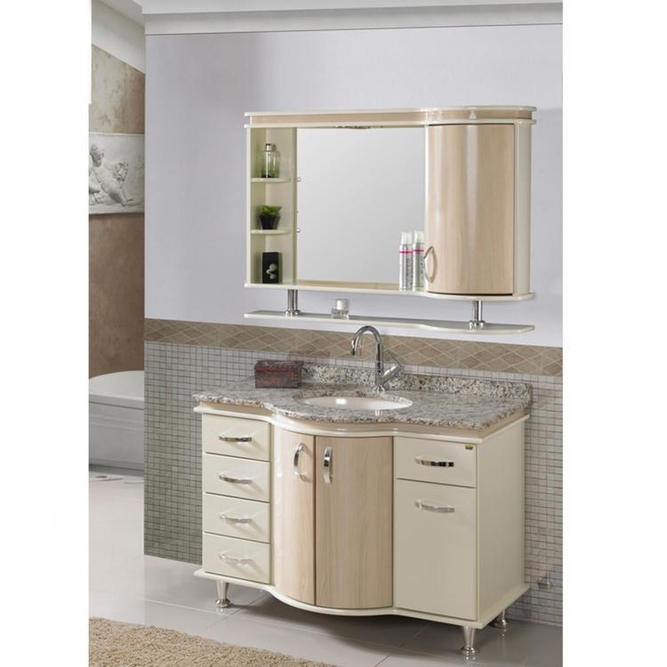 Conjunto para Banheiro com Espelheira, Cuba e Balcão com Tampo em Granito Tre -> Cuba Para Banheiro Em Granito