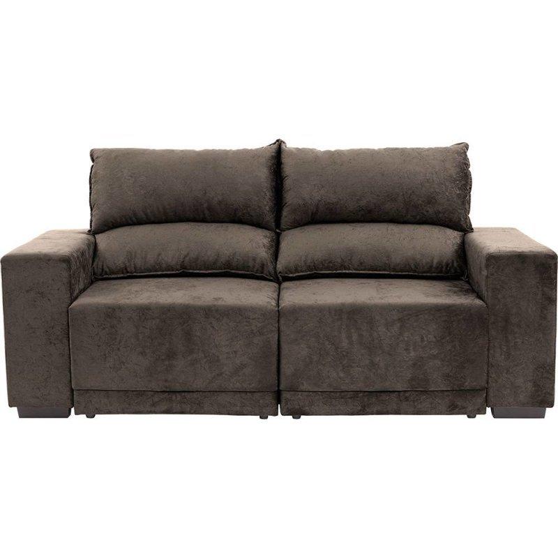 Sof 3 lugares net new evidence assento retr til e for Sofa 4 lugares retratil e reclinavel caravaggio suede amassado marrom
