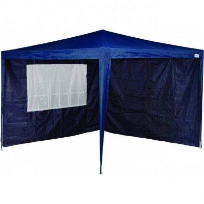 1f8581f8aa962 Tenda Gazebo Articulado Mor XFlex 3 X 3 Com 2 Paredes Azul ...