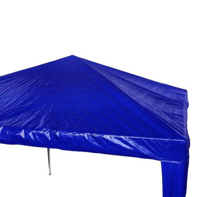 d4dcdeb627e98 Tenda Gazebo Desmontável 3x3 m Barraca Praia Camping Azul com Bolsa  Importway IWGZM-3AZ