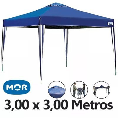 Tenda Gazebo X-Flex 3x3 Metros Azul Mor - MadeiraMadeira c7aa19f8c1
