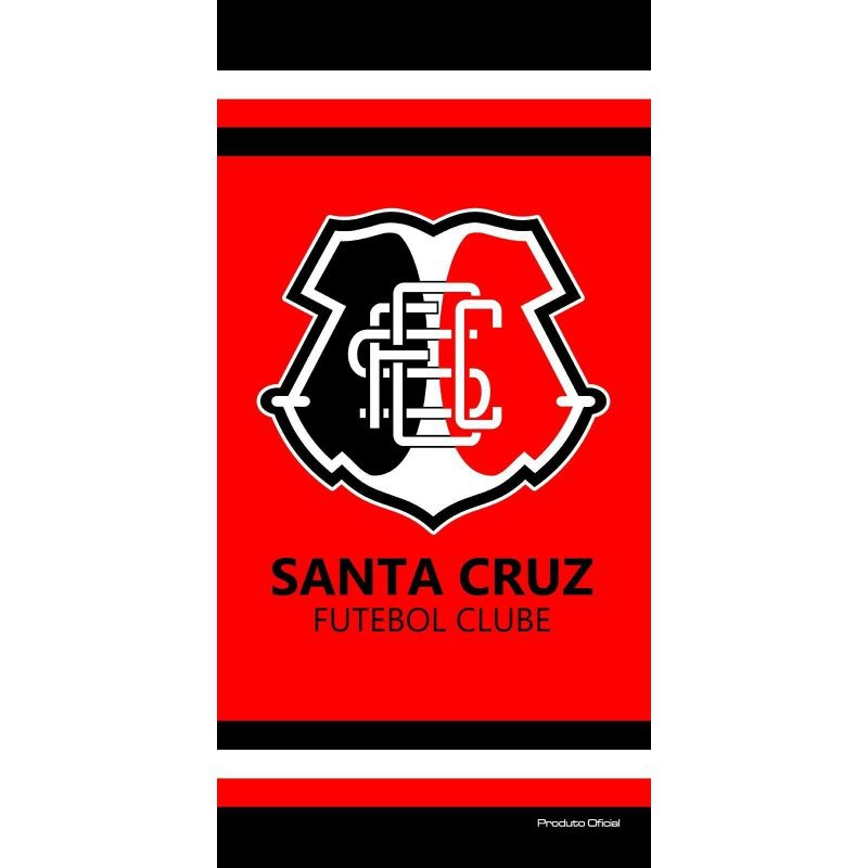 Toalha Felpuda Time de Futebol - Santa Cruz  3ab74f20974b2