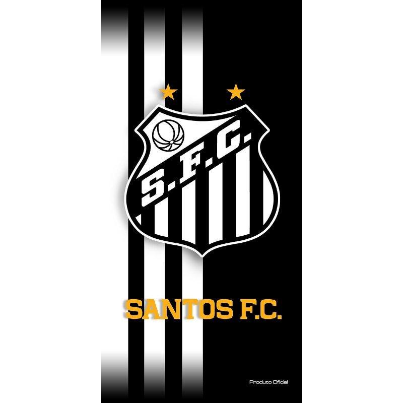 Toalha Felpuda Time de Futebol - Santos  0b3fff168ae0f