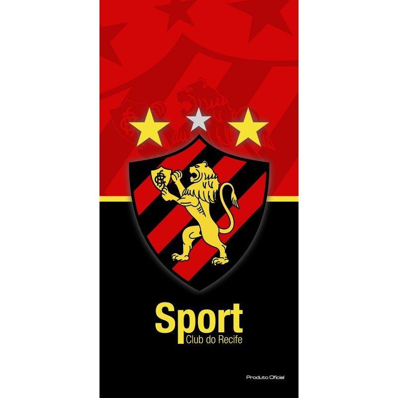 Toalha Felpuda Time de Futebol - Sport Recife  f4d7df22f9355